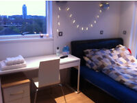 Large double en-suite room £980 - private balcony - Greenwich - Couples Welcome. Available now.