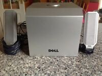 Dell Multimedia speakers and subwoofer