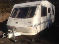 Elddis Cyclone 4 berth touring caravan