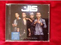 JLS signed cd