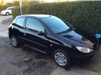Peugeot 206 1.2 petrol (52plate)
