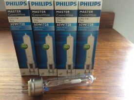 Phillips Cosmo white 60w/728 new