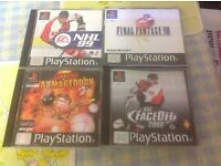 Job lot PS1 PlayStation games