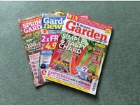 A Selection of 30 Gardening Magazines