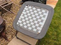 Total fold flat camping chair made by Evaluations Very good condition