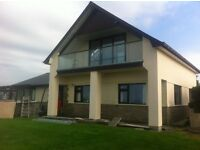 4 Bedroom property set in large plot with 180 degrees views of Cardigan Bay