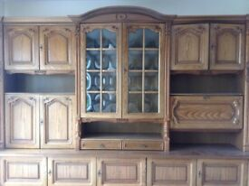Large Schrank style dining room unit.