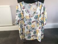 Next Floral Tunic Size 16