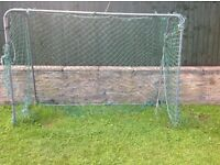 Sturdy Metal Goal Frame with Net