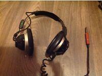 Vintage headphones