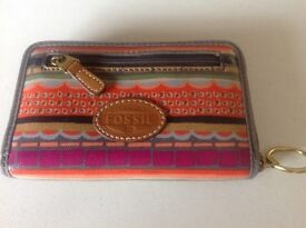 Fossil ladies wallet