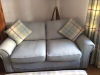 Gorgeous Duck Egg Blue Sofas- Almost New!