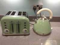 Morphs Richards kettle and toaster set