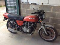 SUZUKI GS 550 , RESTORATION PROJECT , 1978 , S , REG . SPARES. OR. REPAIR ,