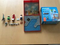 Playmobil Micro Harbour 4337 complete with box and figures age 4 and upwards