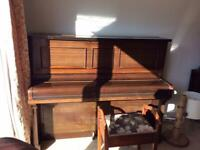 1930's Upright Piano - restrung and tuned FREE - You Collect
