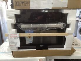 Beko intergrated compact multi function oven with microwave. £310 RRP £469. New/graded 12 month Gtee