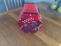 Brand New Unused Scarlatti Anglo Concertina