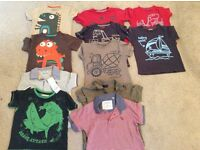 Boys tops bundle age 2-3years