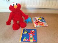 Elmo Live Toy and Books