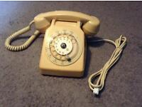 1970s French Telephone Converted to BT
