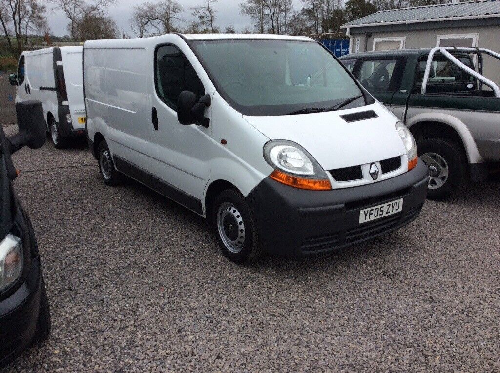 Renault traffic swb 19 swb starts and drives perfect no vat