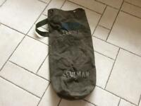 Olive green kit bag