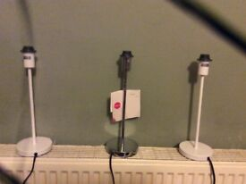 Lamp stands for sale. Brand new. Never been used