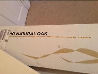 Oak Engineered quality wood flooring 14.4sq.m + Underlay - Brand new unopened