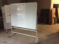 Portable Double Sided Magnetic Whiteboard