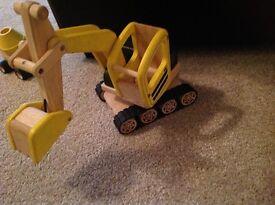 Pintoy construction series digger