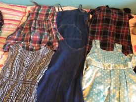 Bundle of 11 dresses age 6
