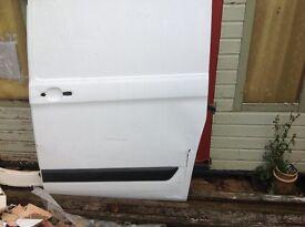 transit custom side door 2014