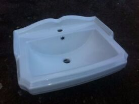 Legend bathroom sink, white, brand new, boxed