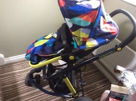 Cosatto pitter patter pram /pushchair /carry cot