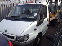 Ford transit chassis cab flat bed