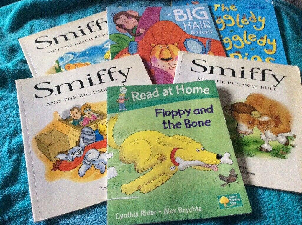 Used children's books x 6