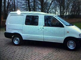 2002 02 ldv cub Nissan ideal day van camper van or work van, ,diesel,2 side loading doors