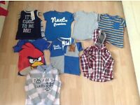 10 pair of t -shirt 2 to 3 old boy