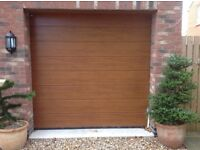 Oxley Electric Sectional Garage door