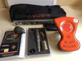 ALKO Al-ko Caravan Wheel Lock Kit No 29. Excellent Unused Condition/Unregistered