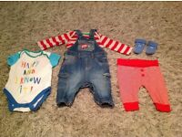NEXT and MOTHERCARE Baby Clothes Bundle. 0-3 Months. 30+ Items. Very Good Condition.