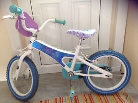 Disney Frozen 16 Inch Girl Bike