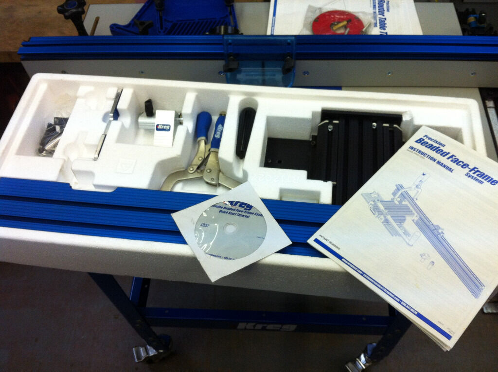 KREG Precision Beaded Face Frame System, Ex Display Not Used - Still ...