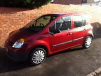 RENAULT MODUS 1.2 16v, 2005 REG, LONG MOT, FULL HISTORY, VERY LOW MILEAGE ONLY 58,000 & HPi CLEAR