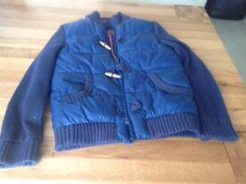 Timberland navy boys jacket age 12