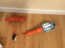 Work light with 5 meter cable new