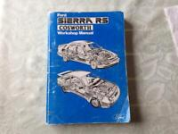 Ford sierra RS cosworth work shop manual.