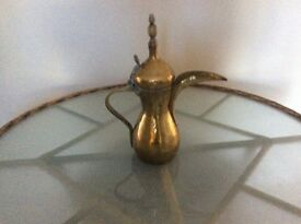 Antique coffee/teapot from Middle East. Makers marked