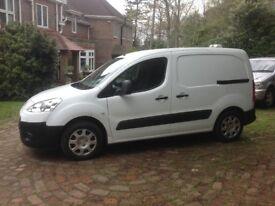 Peugeot partner 1.6diesel 2011/61plate air con twin passenger seat